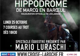 Inauguration de l'éclairage – Spectacle Mario Luraschi